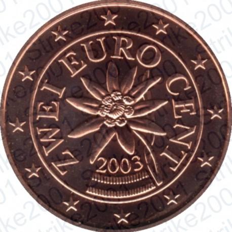 Austria 2003 - 2 Cent. FDC