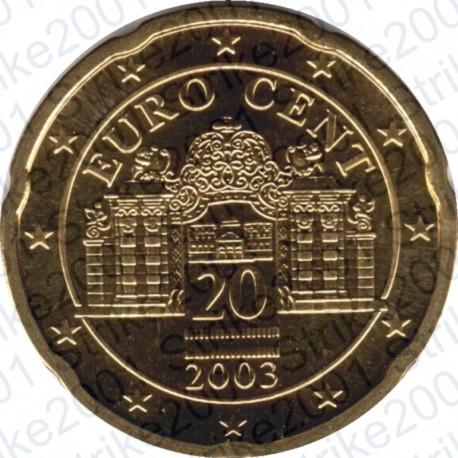 Austria 2003 - 20 Cent. FDC