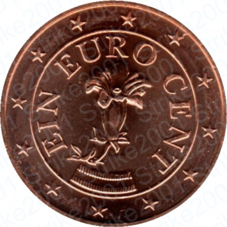 Austria 2012 - 1 Cent. FDC
