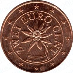 Austria 2012 - 2 Cent. FDC