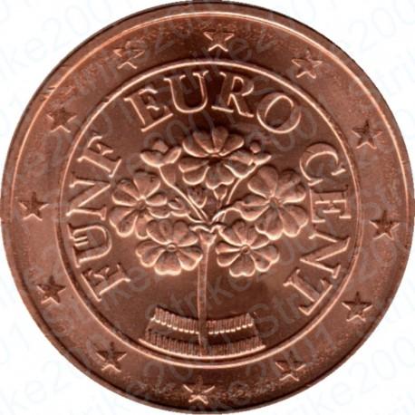 Austria 2012 - 5 Cent. FDC