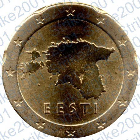 Estonia 2017 - 20 Cent. FDC