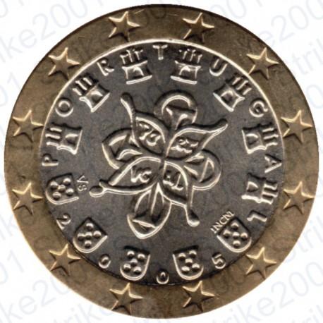 Portogallo 2005 - 1€ FDC