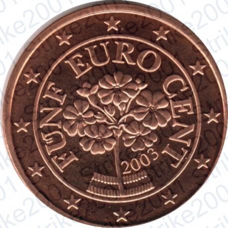 Austria 2003 - 5 Cent. FDC