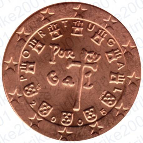 Portogallo 2005 - 5 Cent. FDC
