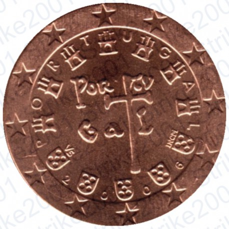 Portogallo 2006 - 2 Cent. FDC