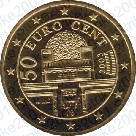 Austria 2003 - 50 Cent. FDC