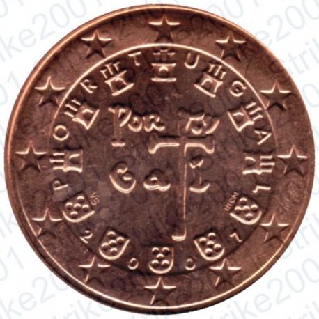 Portogallo 2007 - 5 Cent. FDC