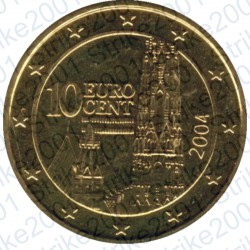 Austria 2004 - 10 Cent. FDC