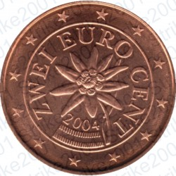 Austria 2004 - 2 Cent. FDC