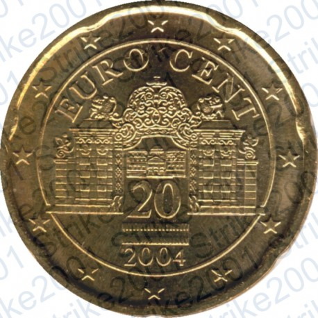 Austria 2004 - 20 Cent. FDC
