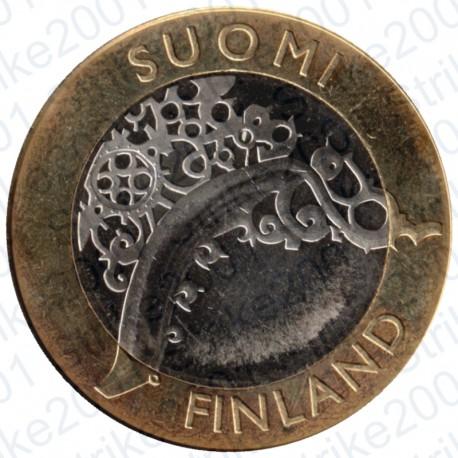 Finlandia - 5€ 2010 FDC Province Storiche I