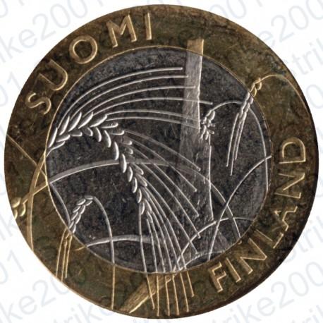 Finlandia - 5€ 2011 FDC Province Storiche IV