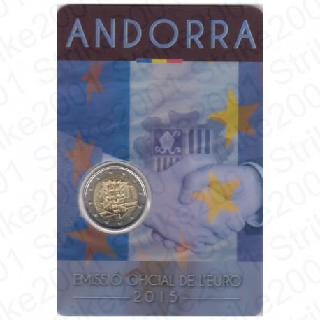 Andorra - 2€ Comm. 2015 FOLDER Accordo Doganale U.E. FDC