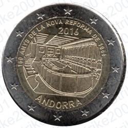 Andorra - 2€ Comm. 2016 FDC Nuova Riforma