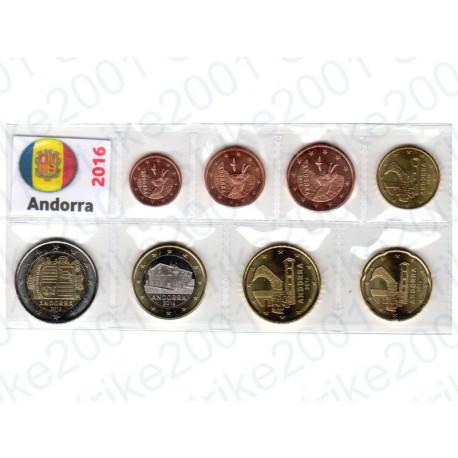 Andorra - Blister 2016 FDC