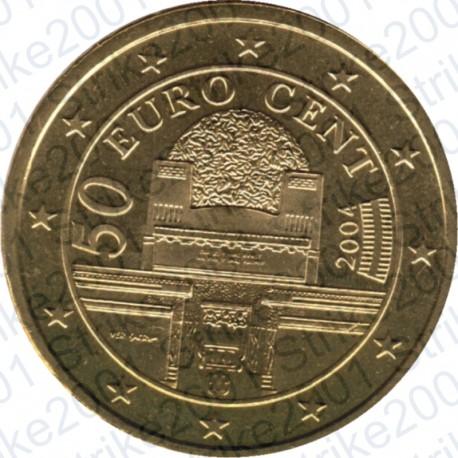 Austria 2004 - 50 Cent. FDC