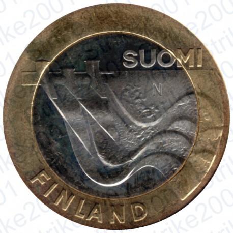 Finlandia - 5€ 2013 FDC Karelia