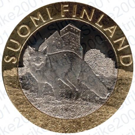 Finlandia - 5€ 2014 FDC Proper-Volpe