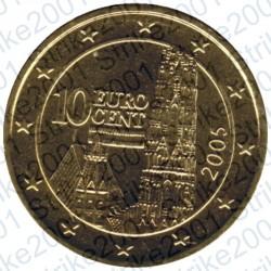Austria 2005 - 10 Cent. FDC
