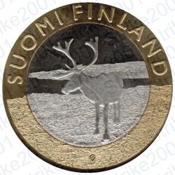 Finlandia - 5€ 2015 FDC Lapponia - Renna