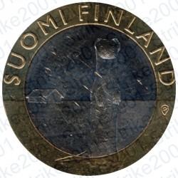 Finlandia - 5€ 2015 FDC Ostrobothnia - Ermellino