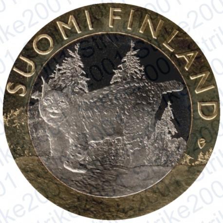 Finlandia - 5€ 2015 FDC Tavastia - Lince