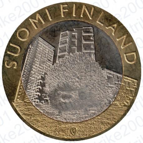 Finlandia - 5€ 2015 FDC Uusimaa - Riccio