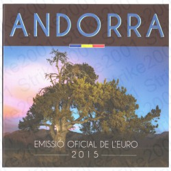 Andorra - Divisionale Ufficiale 2015 FDC