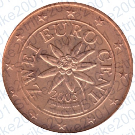 Austria 2005 - 2 Cent. FDC