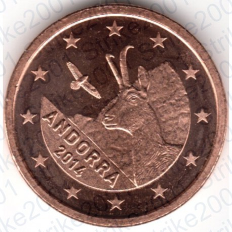 Andorra 2014 - 1 Cent. FDC