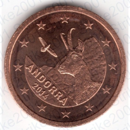 Andorra 2014 - 2 Cent. FDC