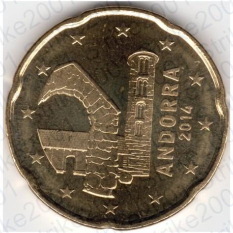 Andorra 2014 - 20 Cent. FDC