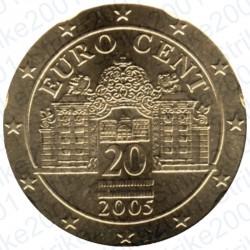 Austria 2005 - 20 Cent. FDC