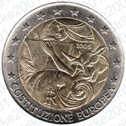 Italia - 2€ Comm. 2005 FDC Costituzione Europea