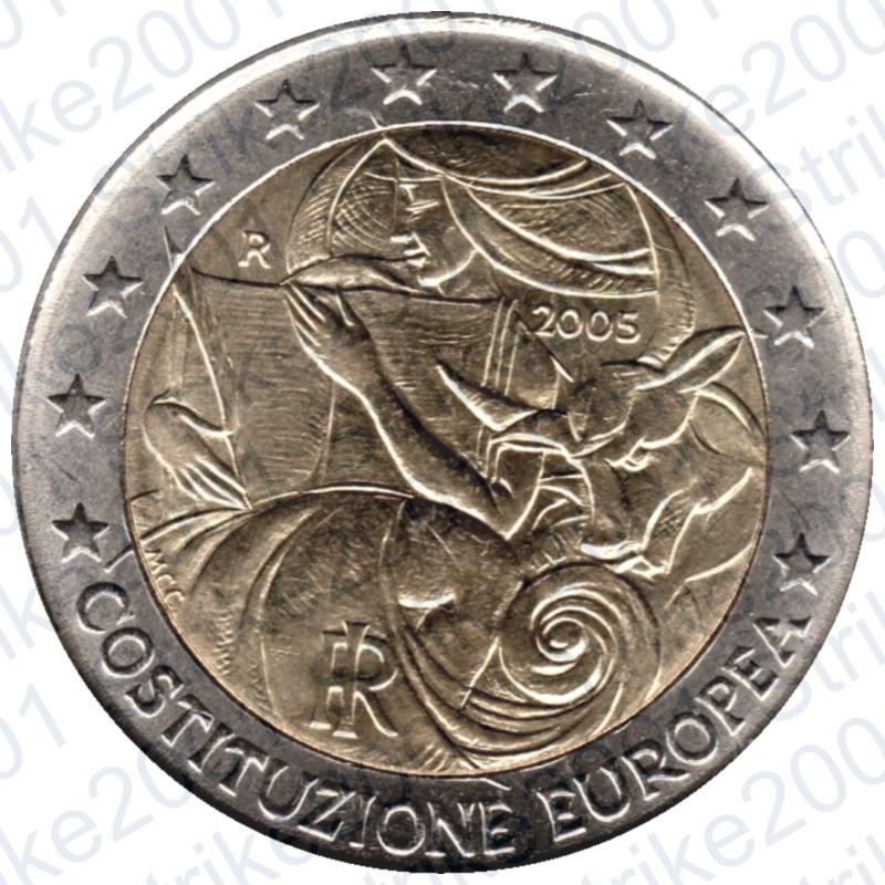3e881d6129 Italia - 2€ Comm. 2005 Costituzione Europea FDC. Loading zoom