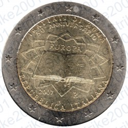 Italia - 2€ Comm. 2007 FDC Trattato Roma