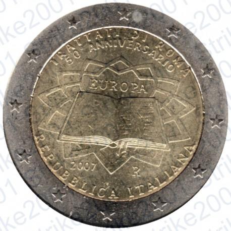 Italia - 2€ Comm. 2007 Trattato Roma FDC