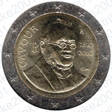 Italia - 2€ Comm. 2010 Cavour FDC