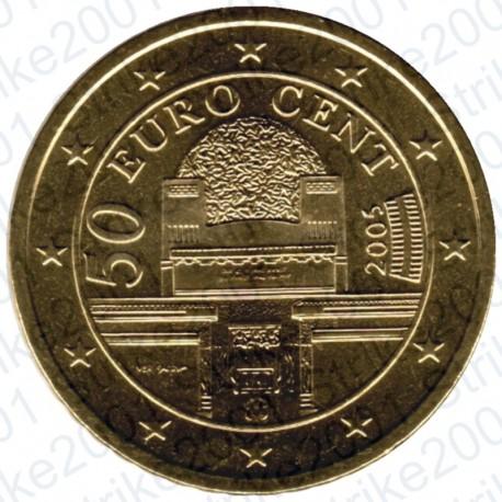 Austria 2005 - 50 Cent. FDC