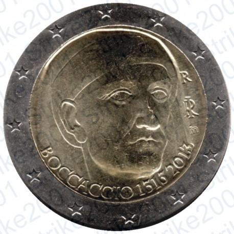 Italia - 2€ Comm. 2013 Boccaccio FDC