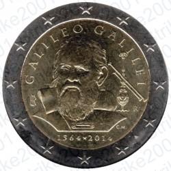 Italia - 2€ Comm. 2014 FDC Galileo Galilei
