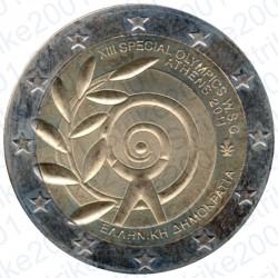 Grecia - 2€ Comm. 2011 FDC Special Olimpics