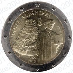 Italia - 2€ Comm. 2015 FDC Dante Alighieri