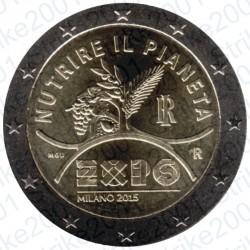Italia - 2€ Comm. 2015 FDC EXPO
