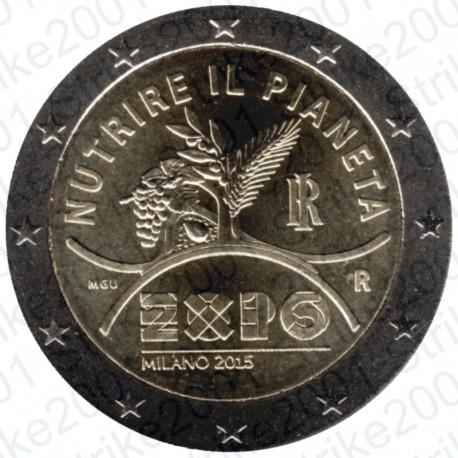 Italia - 2€ Comm. 2015 EXPO FDC