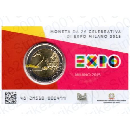 Italia - 2€ Comm. 2015 in Folder EXPO FDC