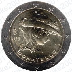 Italia - 2€ Comm. 2016 FDC Donatello