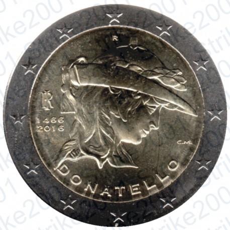 Italia - 2€ Comm. 2016 Donatello FDC