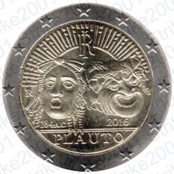 Italia - 2€ Comm. 2016 FDC Plauto